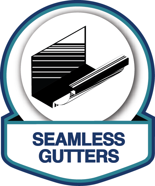 Seamless aluminum and copper rain gutters